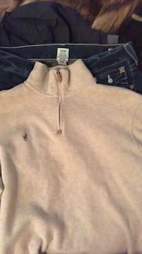 gray zip-up sweater by Ralph Lauren Tacoma, 98406