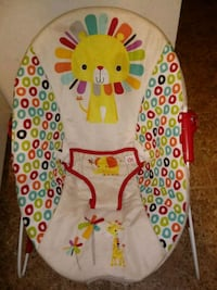 baby's white and red bouncer Hagerstown, 21740
