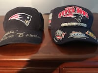Patriots 3 time champion and Russ Francis autographed pats baseball cap Billerica, 01821
