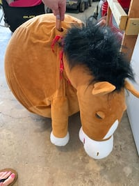 Bouncy ball horse for kids to sit on and hold on to  San Antonio, 78250