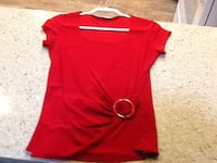 red crew-neck shirt Palm Springs, 92262