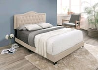Brand New Full Size Upholstered Bed Frame ONLY  Silver Spring, 20902