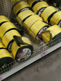 four black and yellow car seats Moreno Valley, 92557