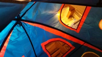 Kids bed tent (full size)