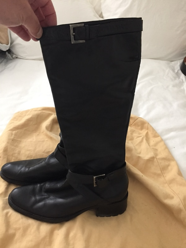 clearance sale timeless design sold worldwide Hugo Boss Woman's Leather Boots