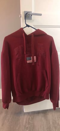 Maroon Women's USA Sweatshirt Bennington, 68007