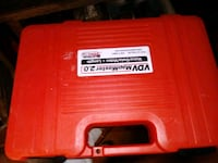 red carrier tool box Pope, 38658