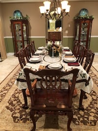 Table Set, Buffet, Two Curios Upper Marlboro, 20772