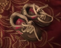 Pair of gray-and-pink nike running shoes Richmond, 23224
