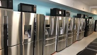 Stainless steel Refrigerators 10% off Reisterstown, 21136