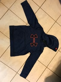 Under armour Blue and orange pullover hoodie Edcouch, 78538