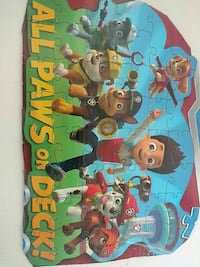 Paw Patrol All Paws on Deck! jigsaw puzzle