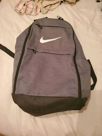 Grey and Blk Nike backpack Council Bluffs, 51501