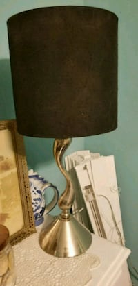 black and gold table lamp Lincolnton, 30817