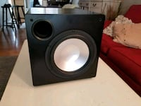 black and gray subwoofer speaker Annandale, 22003
