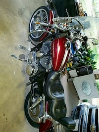 red and black touring motorcycle Pineville, 71360