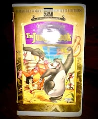 The Jungle Book VHS used