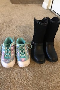 Toddler girl shoes CARTERS & Nike size 8 Silver Spring, 20906