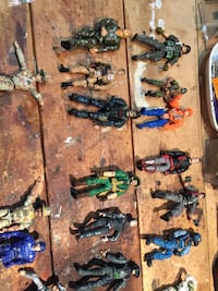 assorted color action figure collection Marietta, 30068