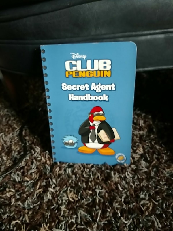 Used Disney Club Penguin Secret Agent Handbook For Sale In Culver