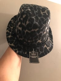 Very chic brand new Jessica fedora.  One size fits all. Edmonton, T6L 6P5