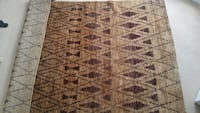 Brown Area rug by Zara never used London, W5 5BH