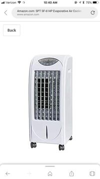 SPT SF-614P Evaporative Air Cooler with 3D Cooling Pad Los Angeles, 90028