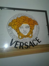 Versace stained glass art