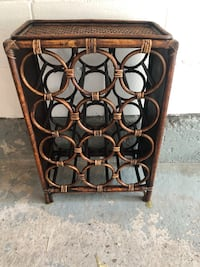 Wicker 12-Bottle Wine Rack Mississauga, L5M 3B2