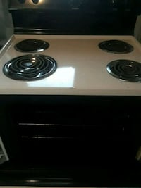 white and black electric coil range oven Saint Petersburg, 33711