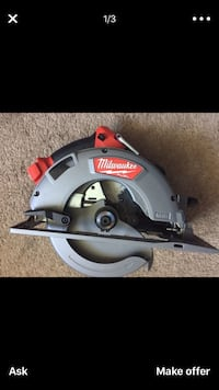 "Milwaukee new CIRCULAR SAW : 71/4"" 18M - FUEL- BRUSHLESS (tool only ) Circular nuevo Los Angeles, 91406"