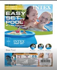 "8' 30"" easy set pool new in box"