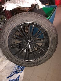 4 winter tires with mags Montréal, H1M 3K4