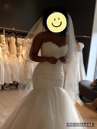 Romona Keveza wedding dress for sale Tysons