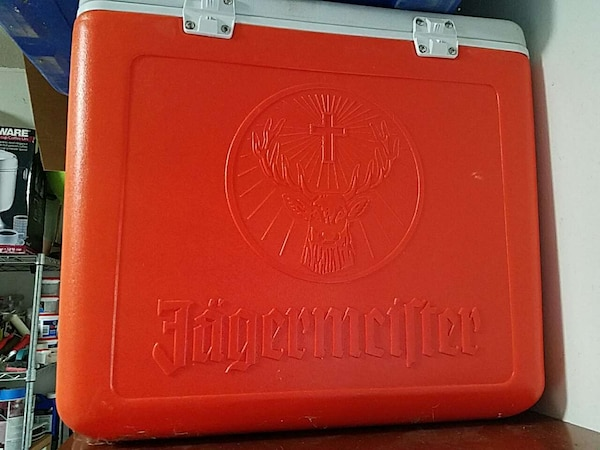 Used Jagermeister Cooler With Pour Spout For Sale Letgo