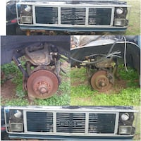 black and brown GMC vehicle parts collage Macon, 31211
