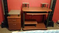 Desk and filing cabnet Brantford