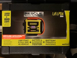 Rescue- Battery Charger - Brand New