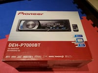 Pioneer Car Stario with Bluetooth DEH-P7000BT