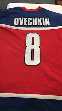 Ovechkin Olympic Nike Jersey Frederick, 21701