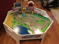 Jay Jay the Jet Plane Table with Characters & Bldgs Congers, 10920