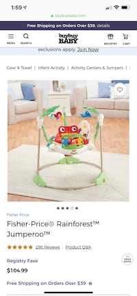 Fisher-Price Rainforest Jumperoo Las Vegas, 89148