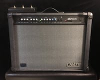 Crate GFX-212T 120Watt Electric Guitar Amplifier Amp with 3 Button Foot Pedal Switch