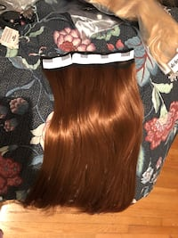 One peice clip in hair extension
