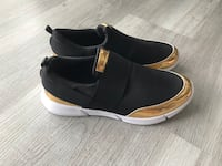 Black gold brand new slip on sneakers comfortable  Gaithersburg, 20879