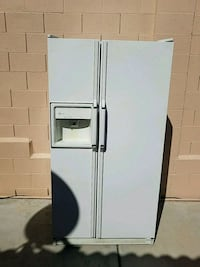 white side-by-side refrigerator with dispenser Las Vegas, 89131