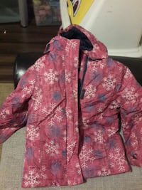 pink and white floral zip-up hoodie Ottawa, K1G 5T1