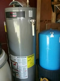 New Gas/Propane Water Heater and Water Tank