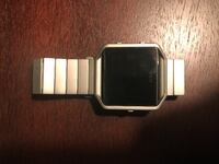 Fitbit Blaze with Silver Link Watch Band  Bolivar