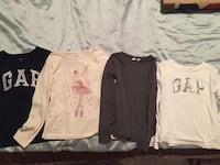 GAP Kids shirts Lot of 4 size L (10) Johnston, 50131